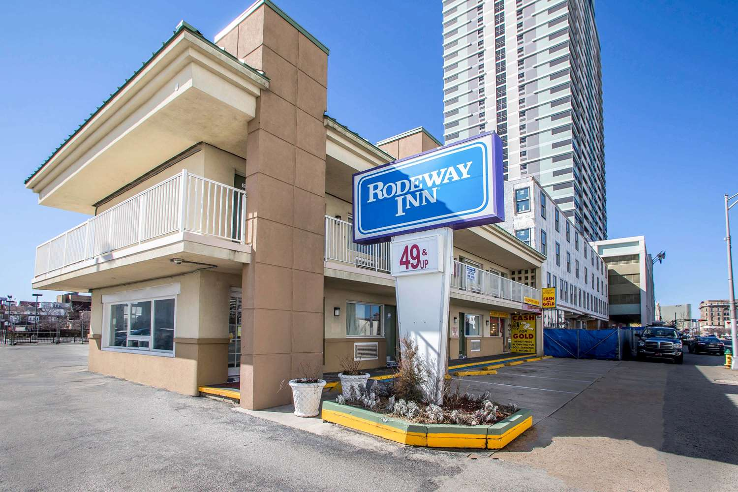 Exterior view - Rodeway Inn Downtown Atlantic City