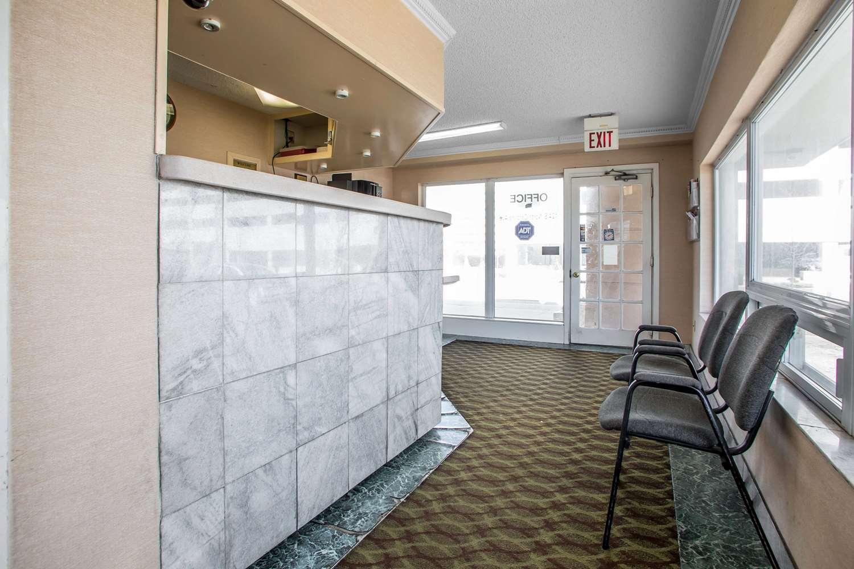 Lobby - Rodeway Inn Downtown Atlantic City