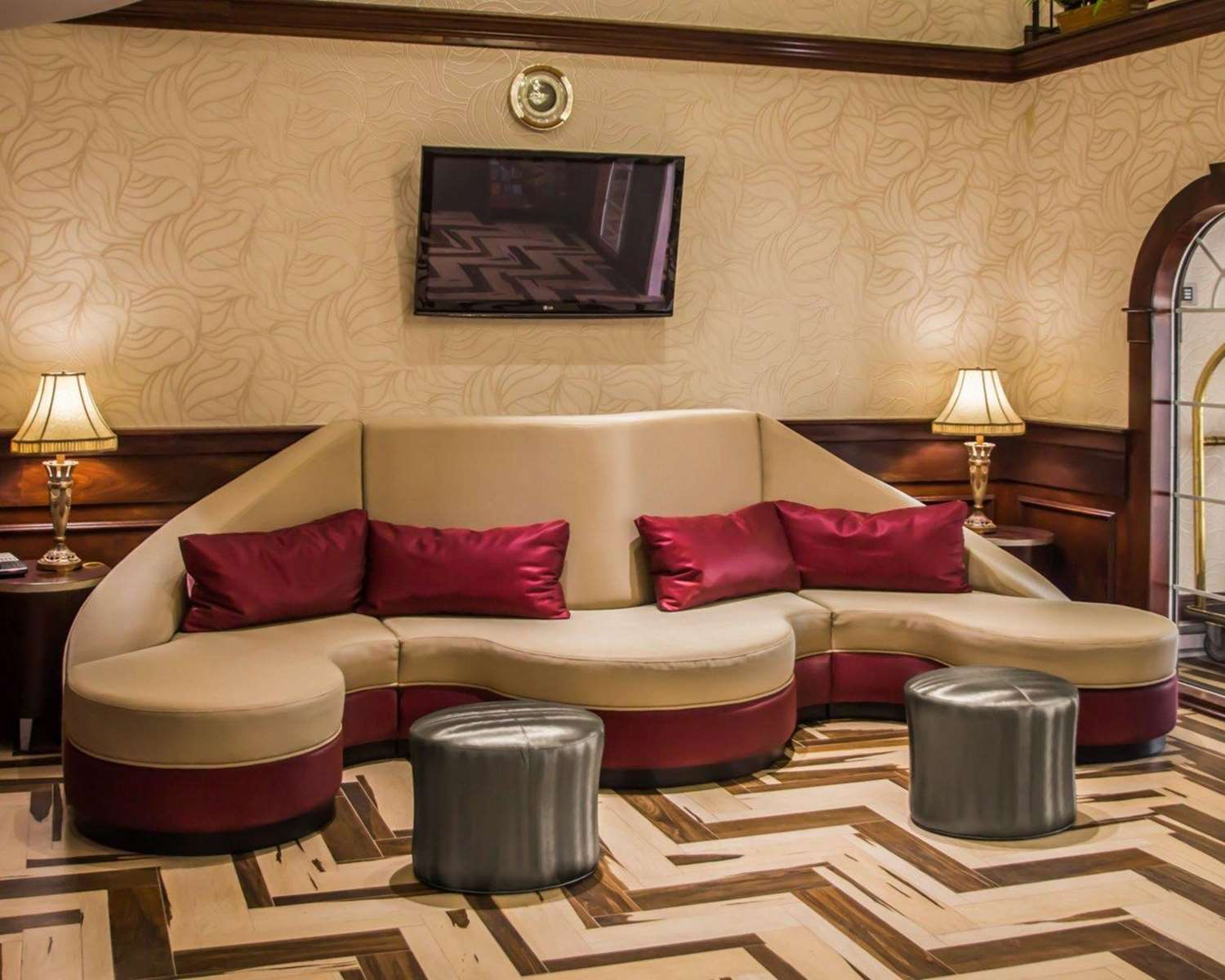 Lobby - Quality Suites North Bergen