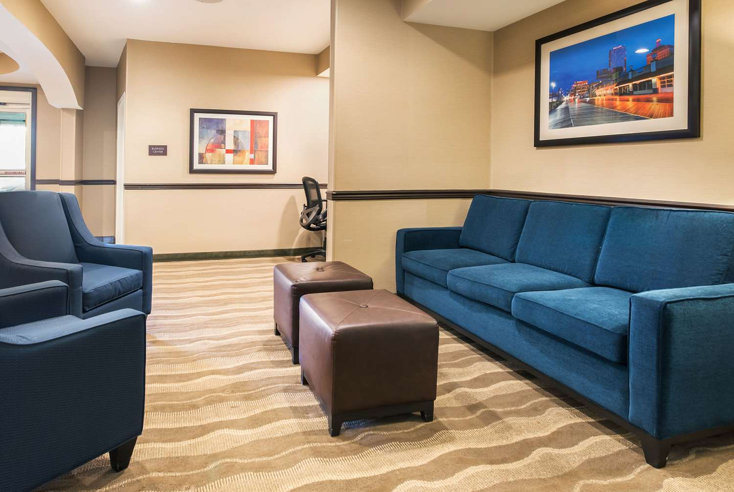 Lobby - Comfort Suites Galloway