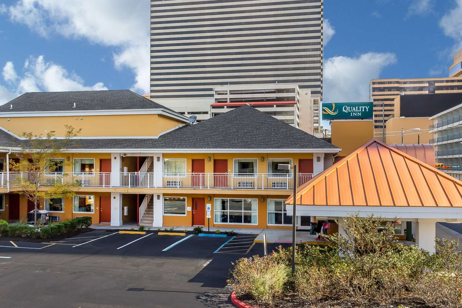 Exterior view - Quality Inn Flamingo Atlantic City