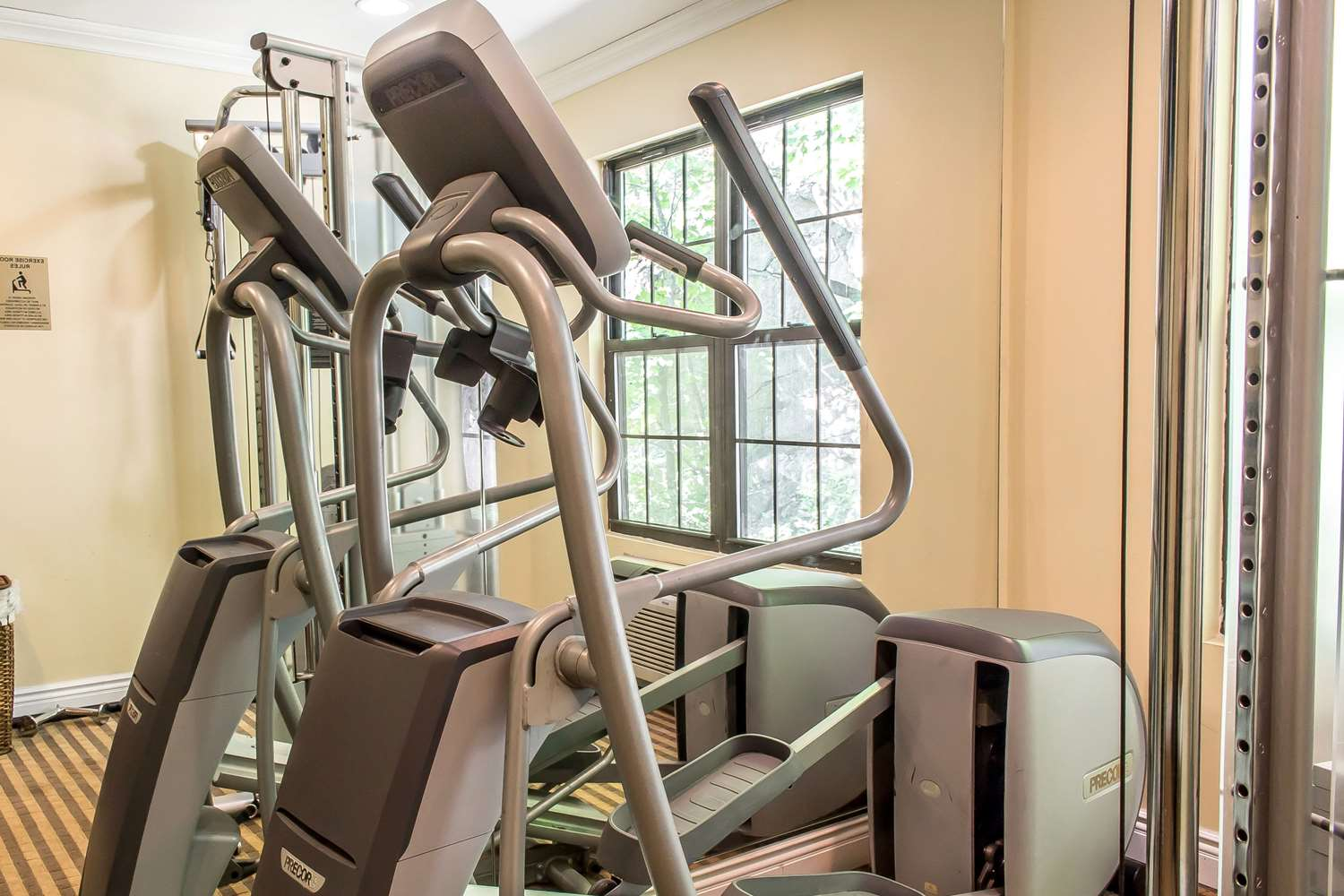 Fitness/ Exercise Room - Quality Inn McAfee