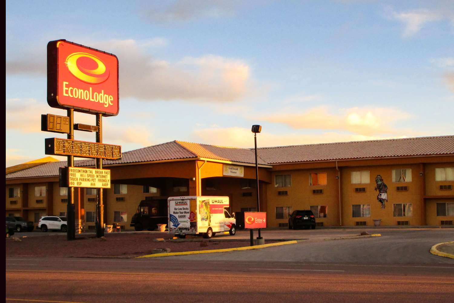 Exterior view - Econo Lodge Gallup