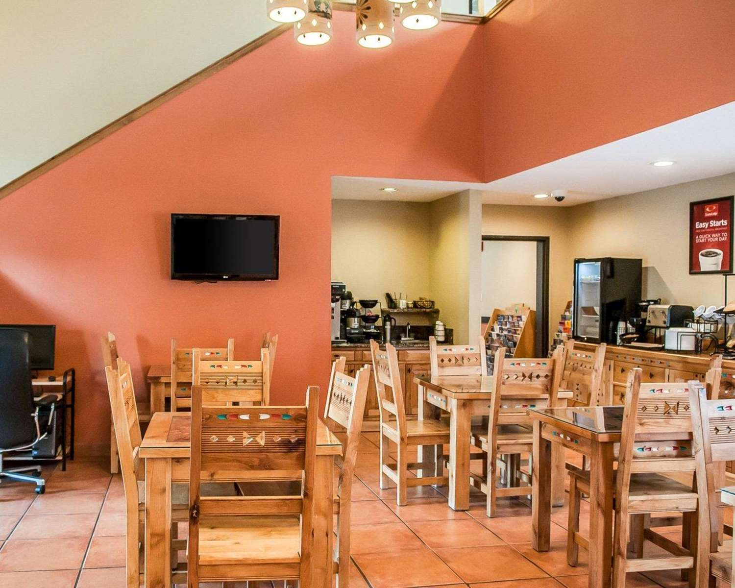Restaurant - Econo Lodge Inn & Suites Santa Fe
