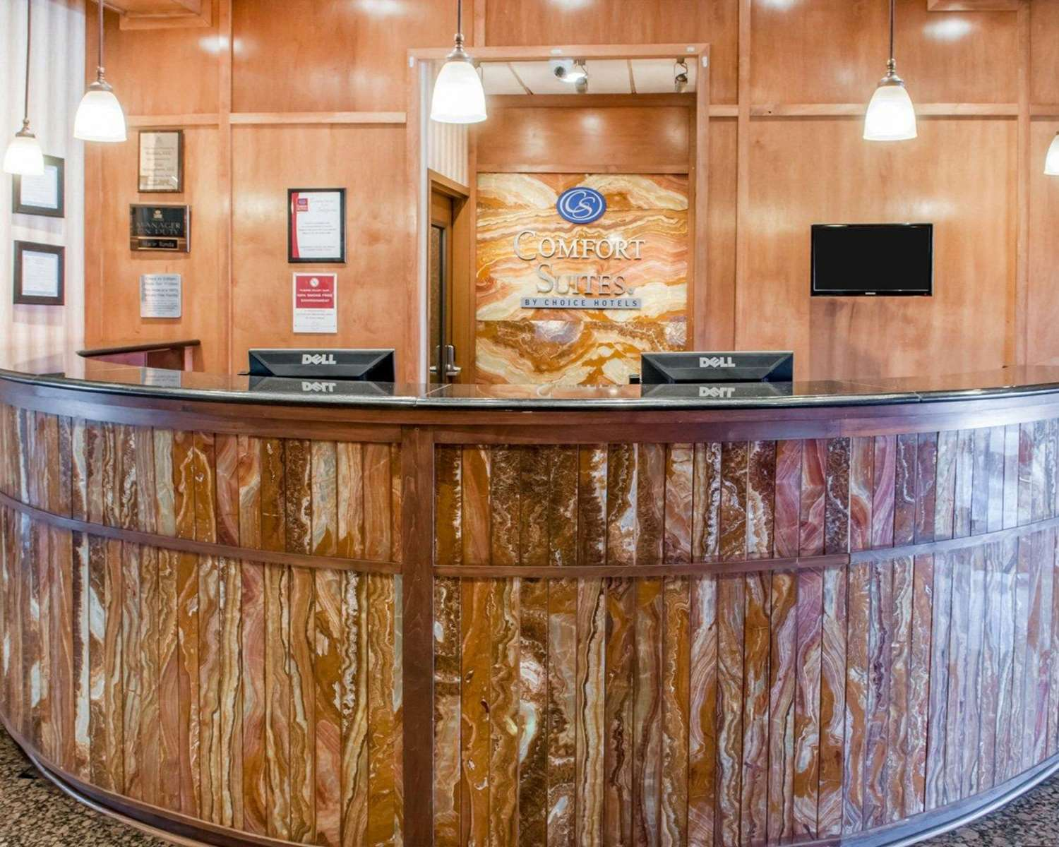 Lobby - Comfort Suites Roswell