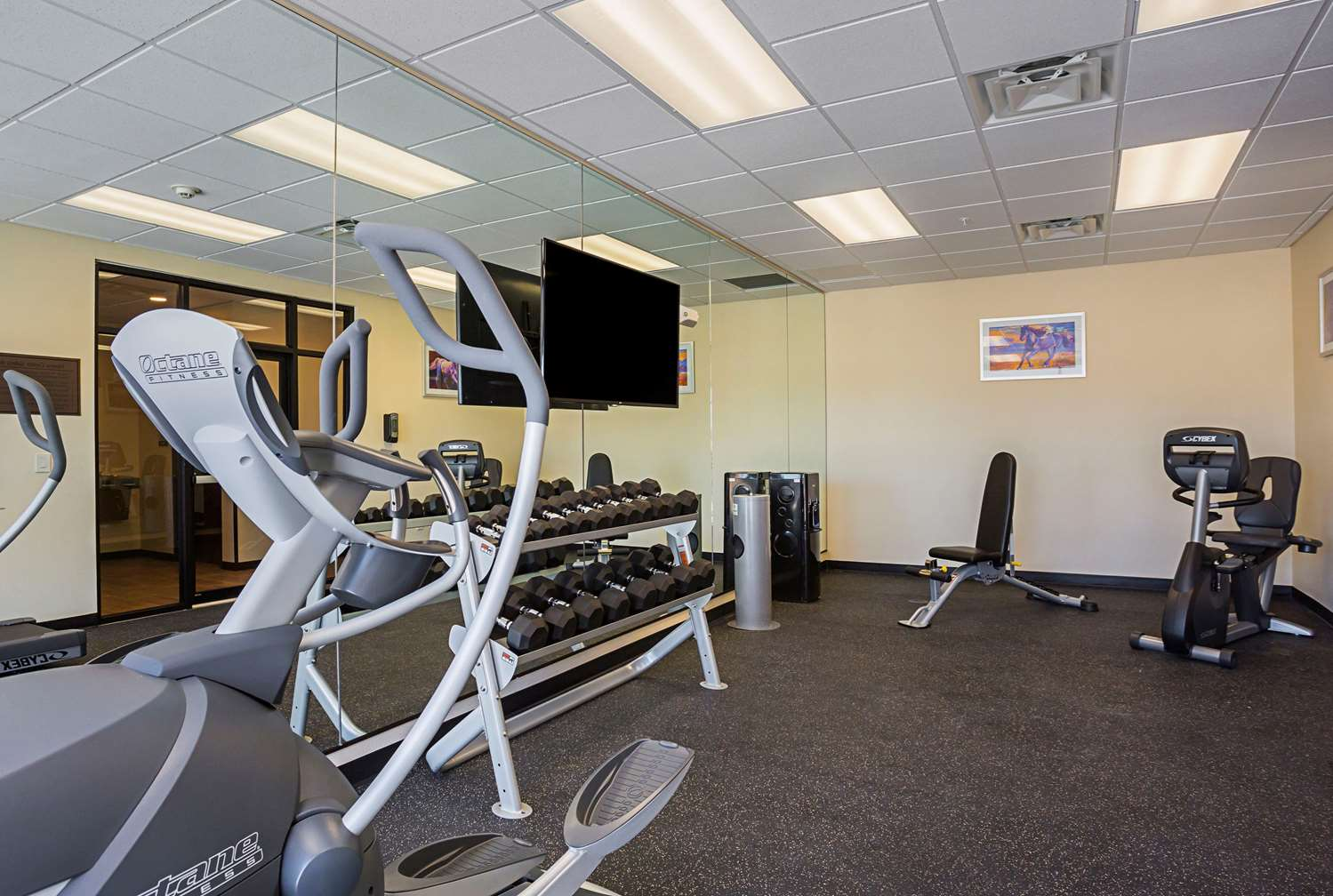 Fitness/ Exercise Room - Hotel at Sunland Park Casino