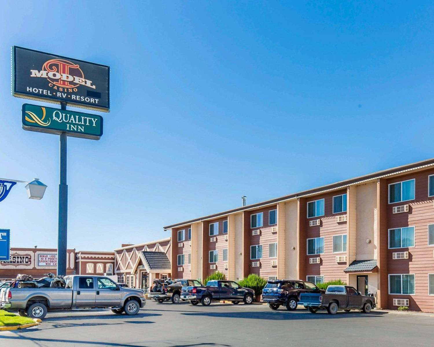 Exterior view - Quality Inn Winnemucca