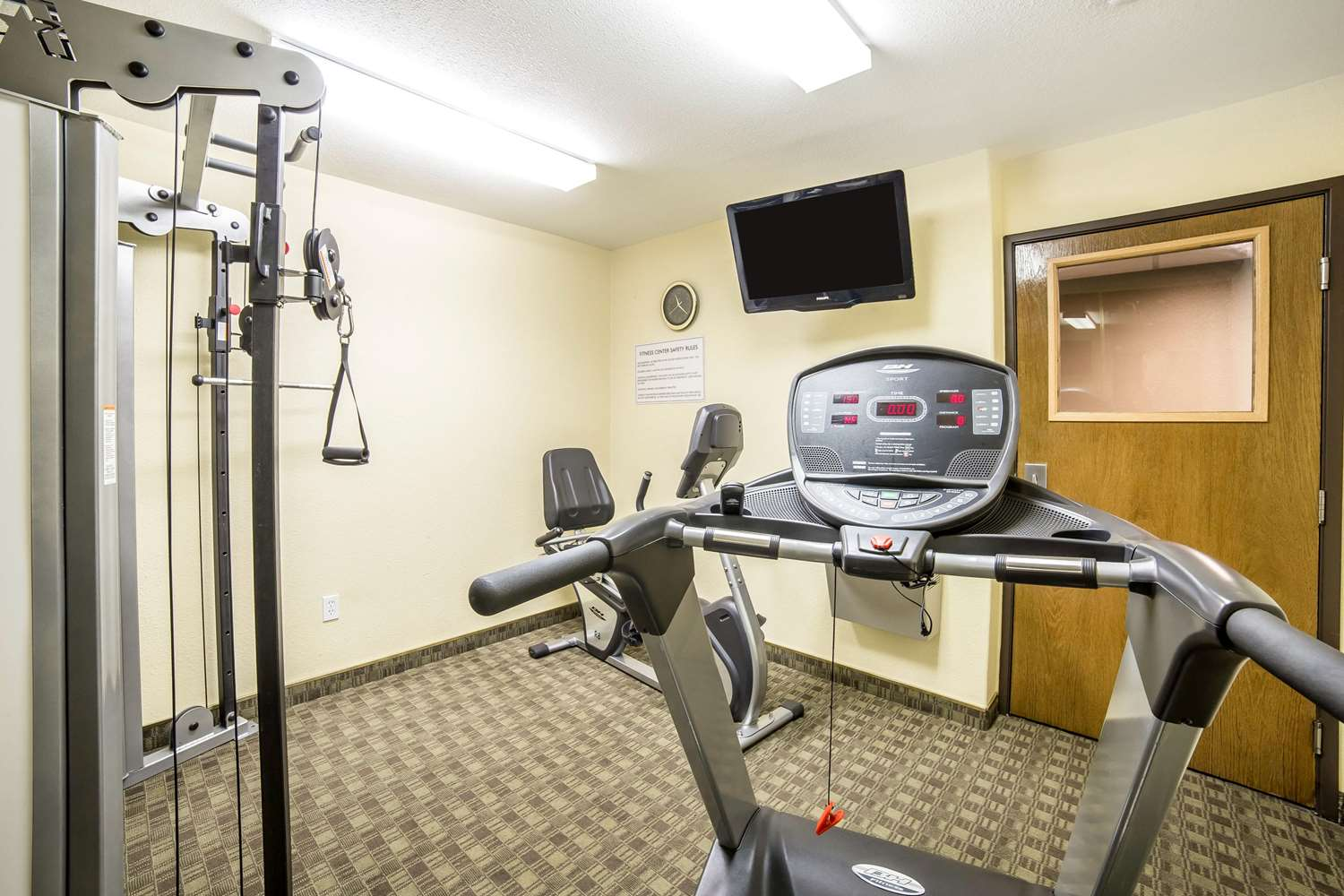 Fitness/ Exercise Room - Quality Inn & Suites Elko