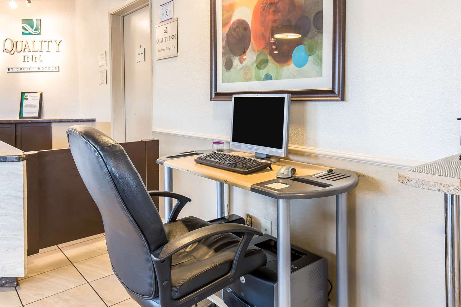 Conference Area - Quality Inn Boulder City