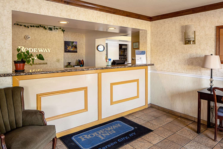 Lobby - Rodeway Inn at Nevada State Capital Carson City