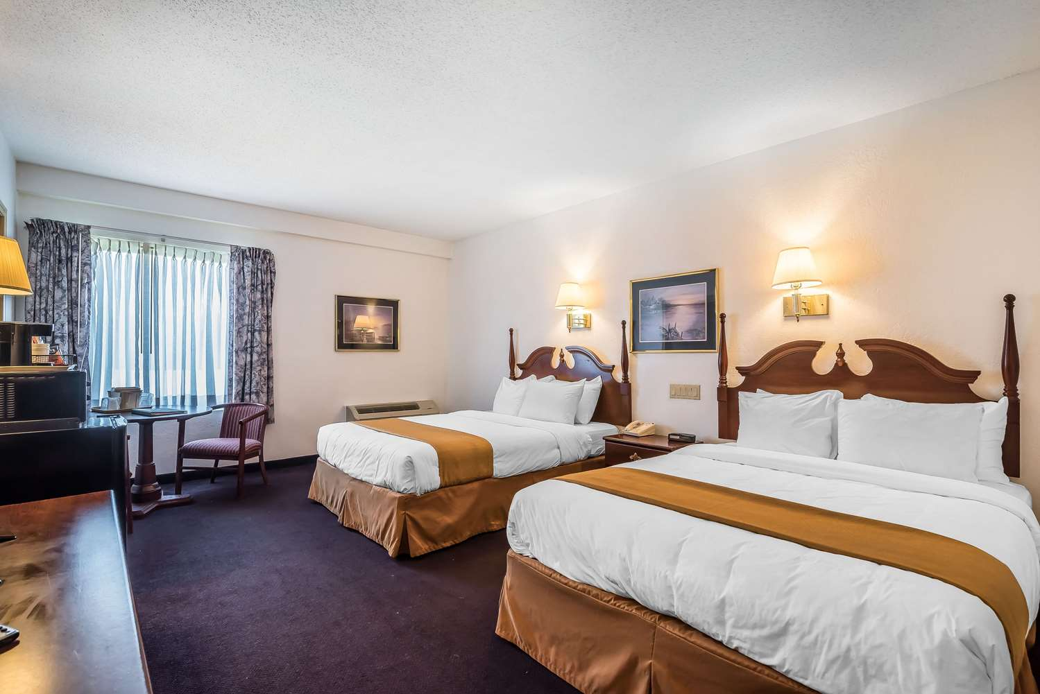 Room - Quality Inn & Suites Albany Airport Latham