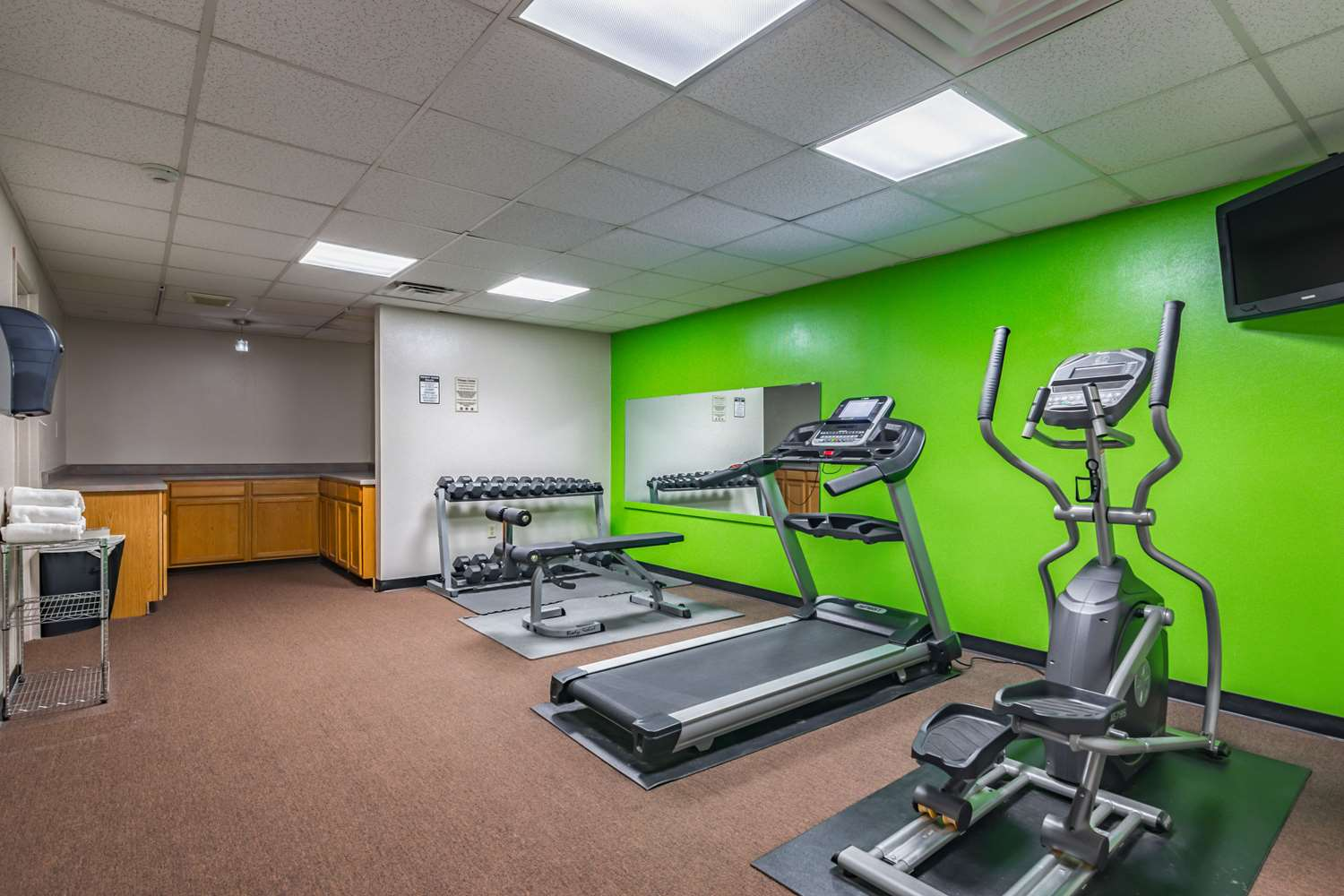 Fitness/ Exercise Room - Quality Inn Schenectady