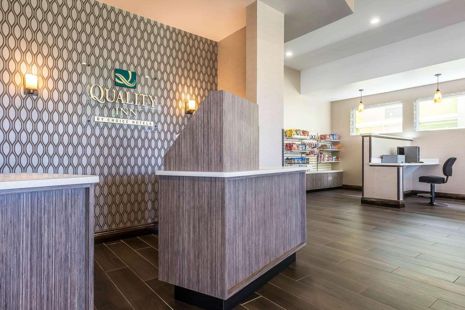 Lobby - Quality Inn Hamburg
