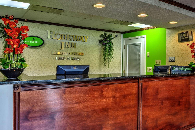 Lobby - Rodeway Inn Lake George