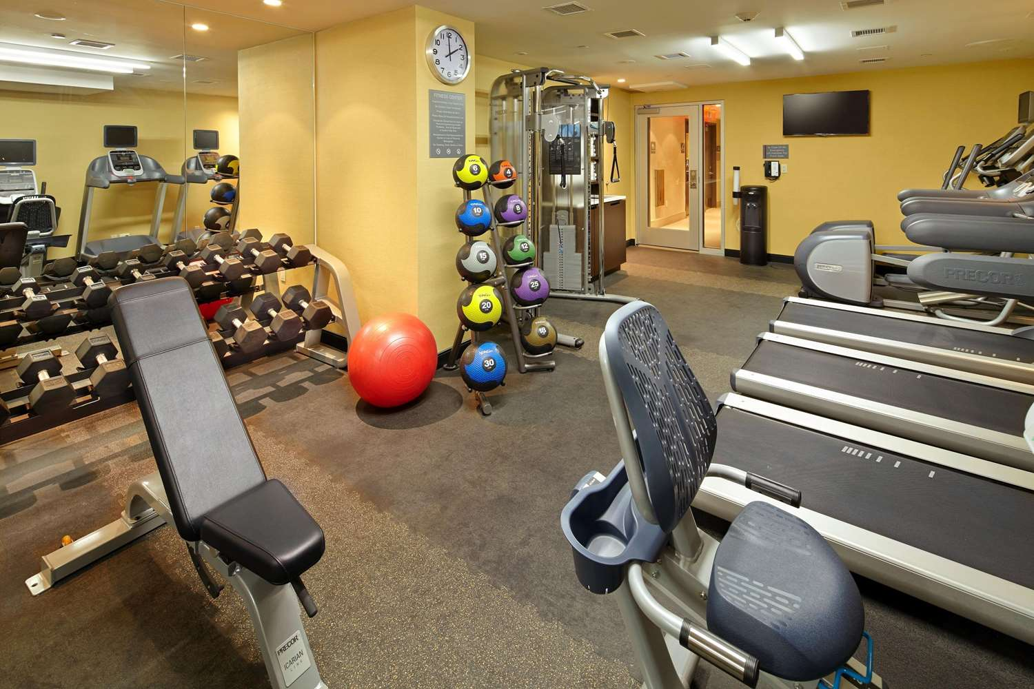 Fitness/ Exercise Room - Cambria Suites Chelsea New York