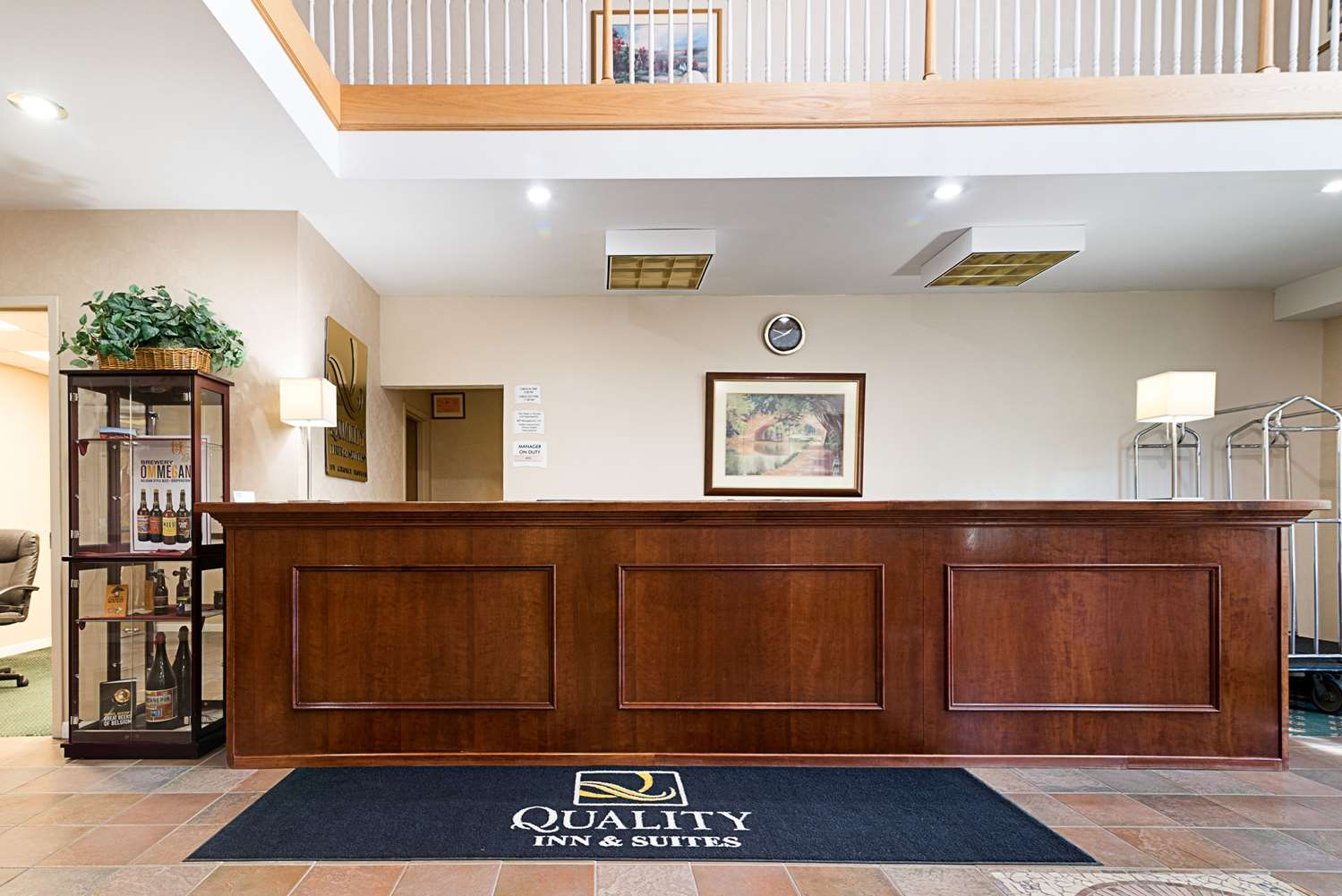 Lobby - Quality Inn & Suites Schoharie