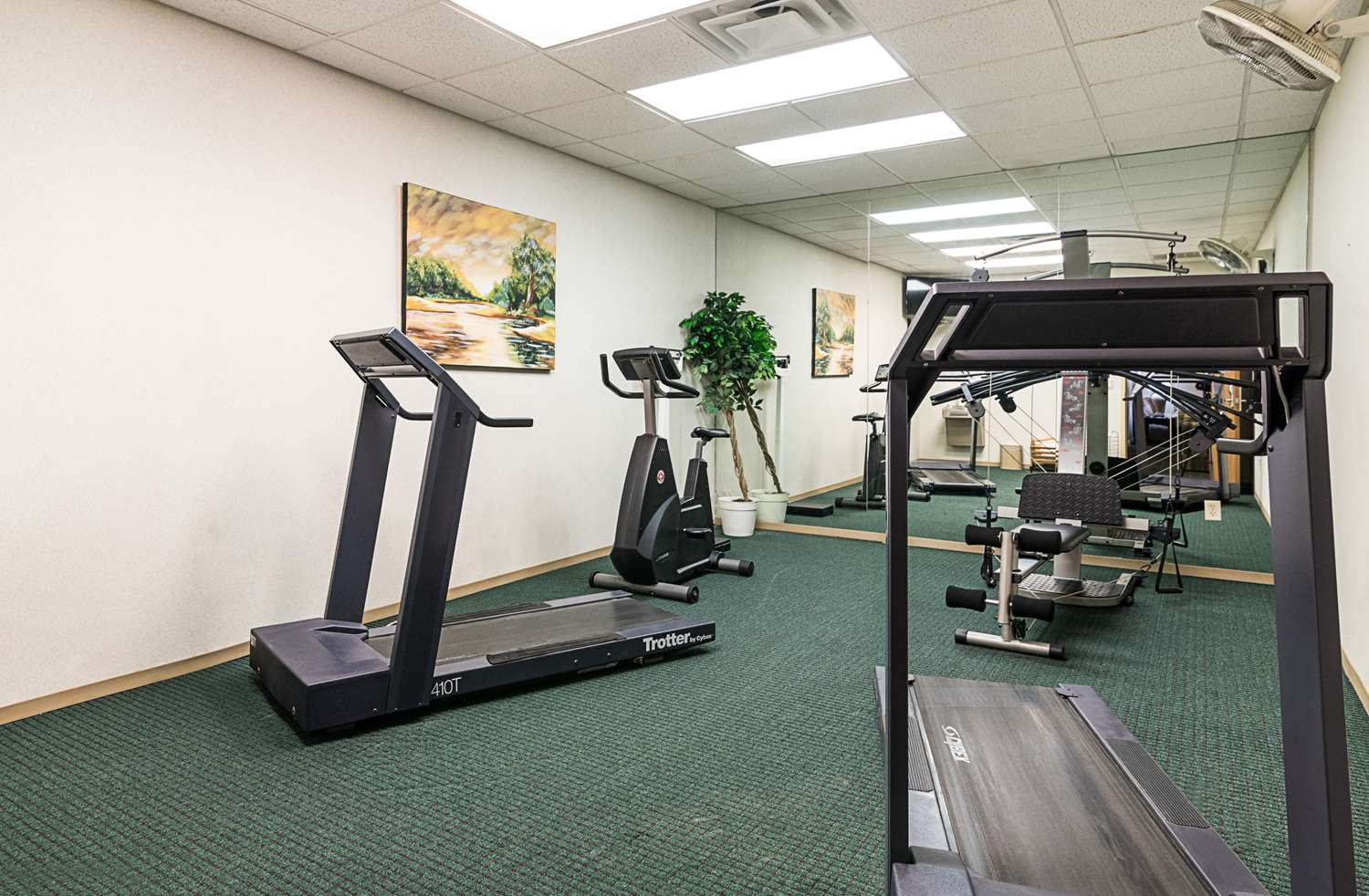 Fitness/ Exercise Room - Quality Inn & Suites Schoharie