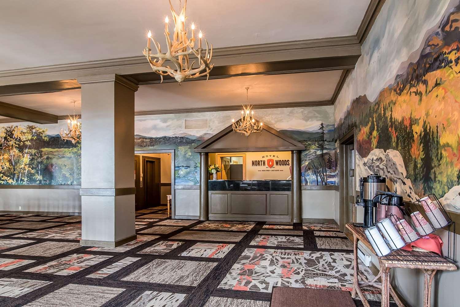 Lobby - Hotel North Woods Lake Placid