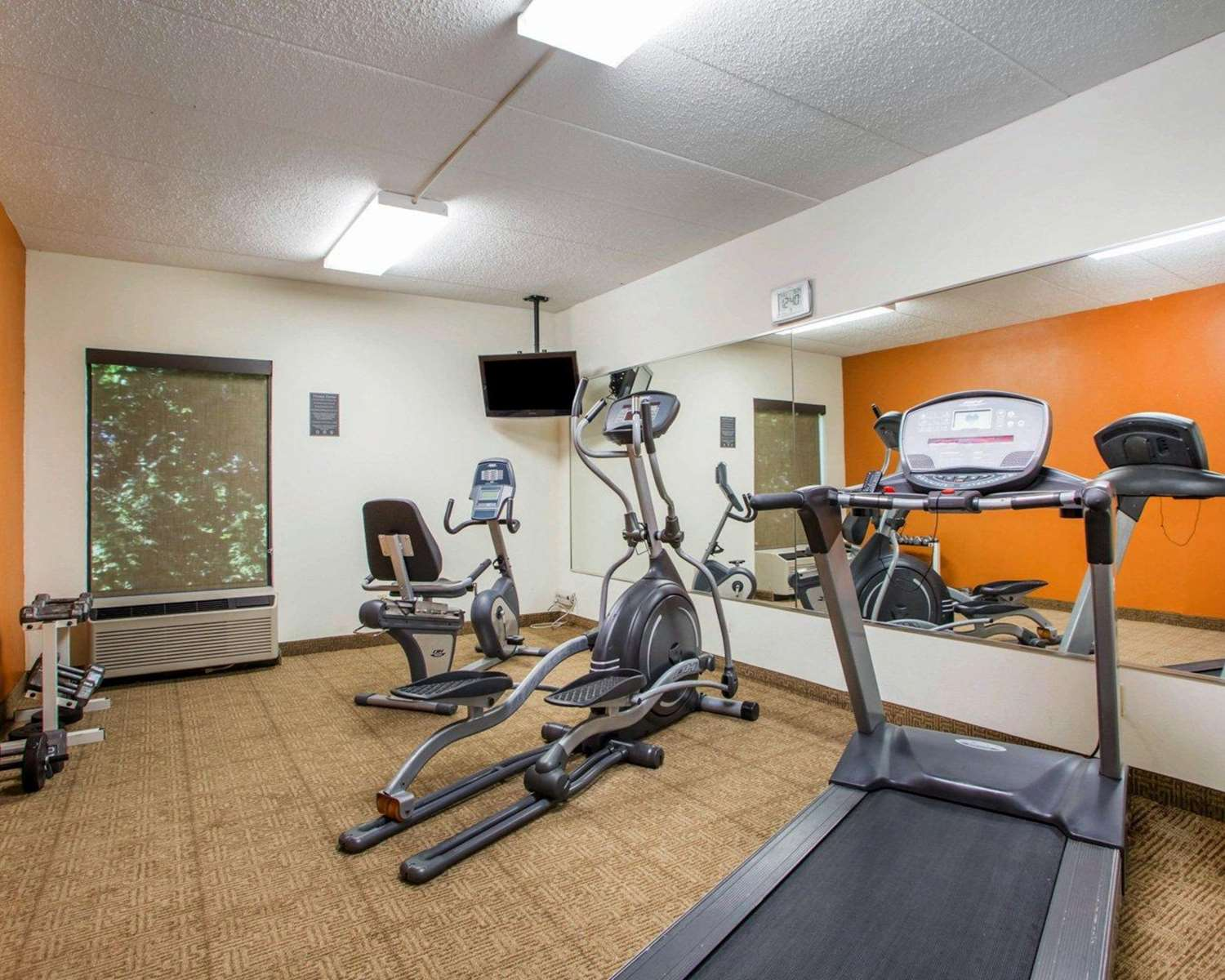 Fitness/ Exercise Room - Comfort Inn Huber Heights