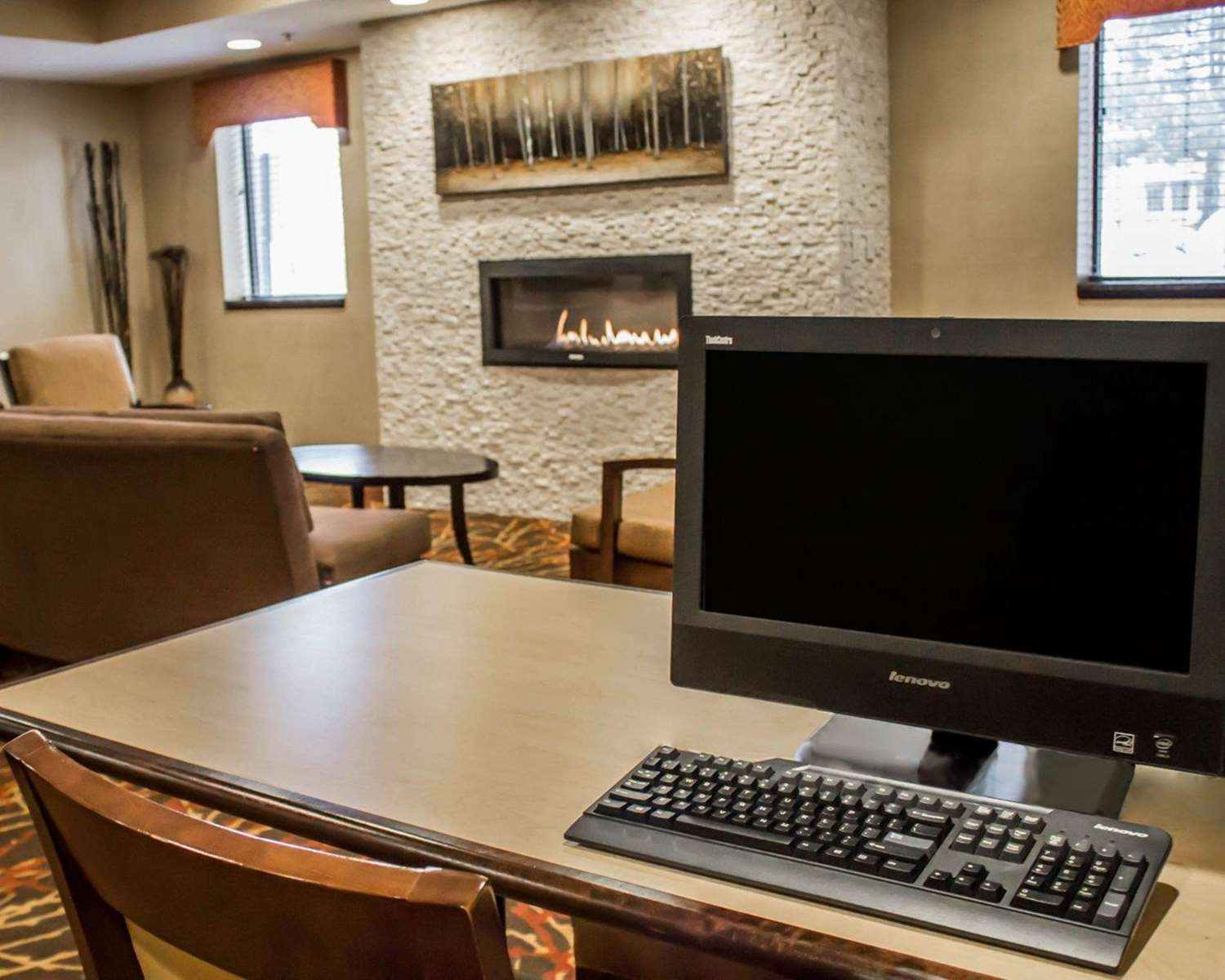 Conference Area - Comfort Inn & Suites Wadsworth