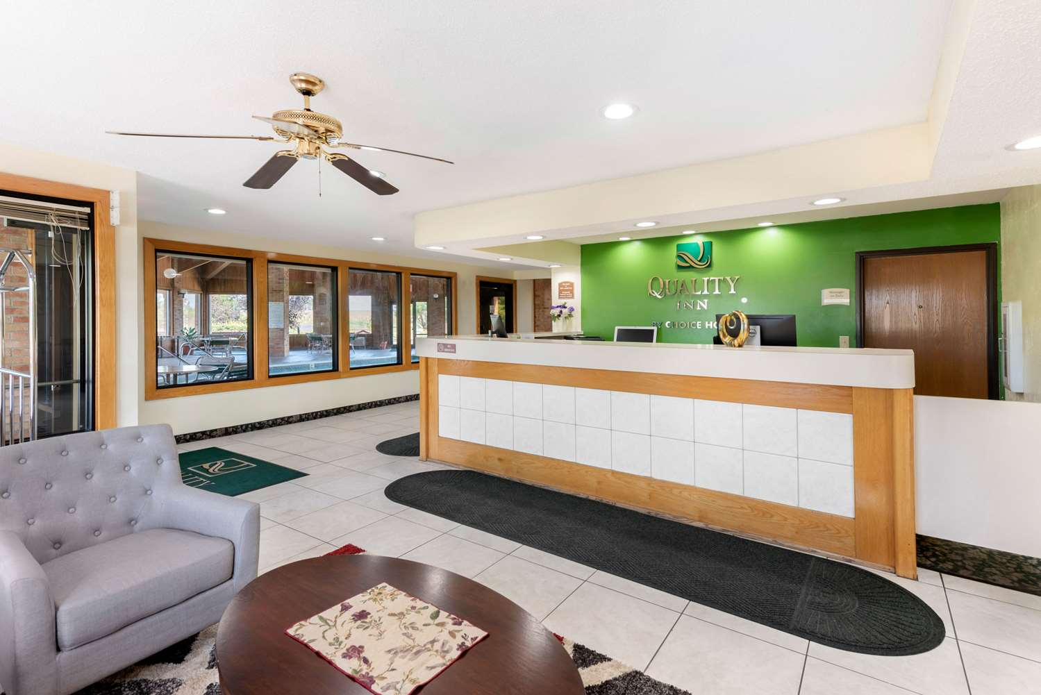 Lobby - Quality Inn Washington Court House Jeffersonville