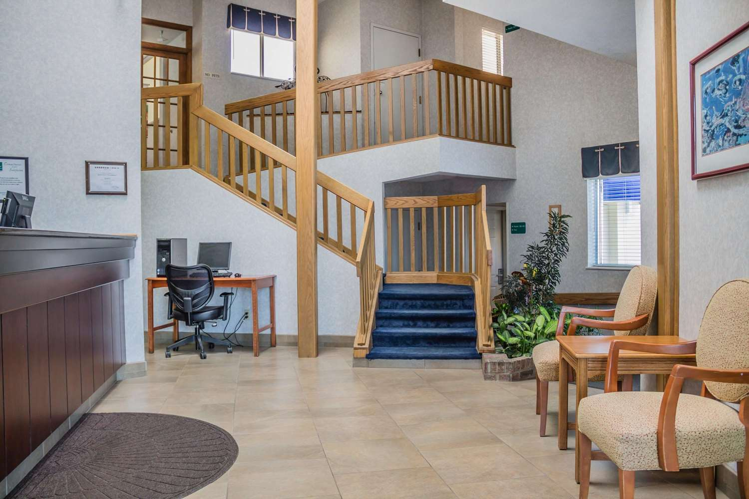 Lobby - Quality Inn Port Clinton