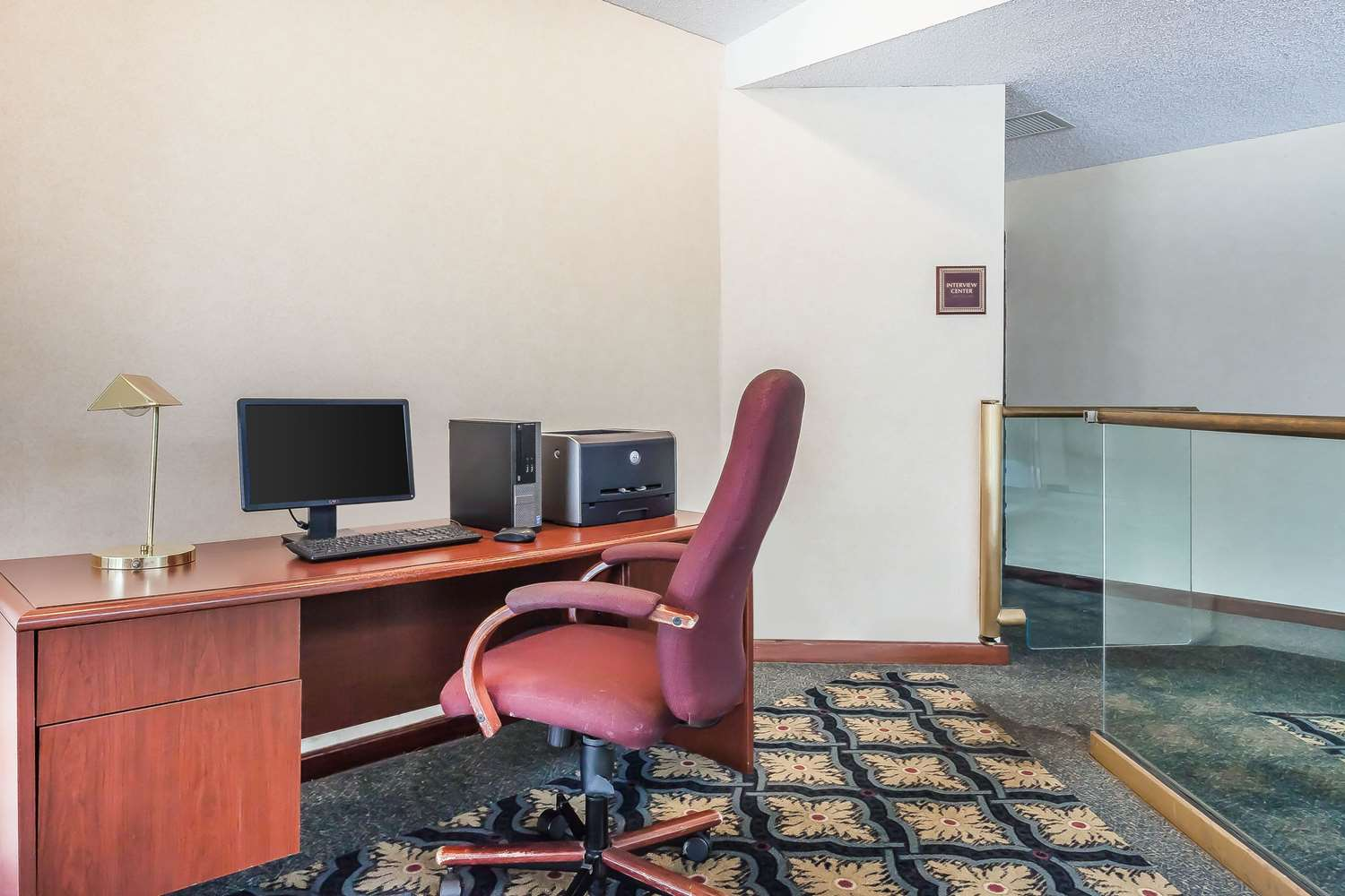 Conference Area - Comfort Inn Cleveland Airport Middleburg Heights