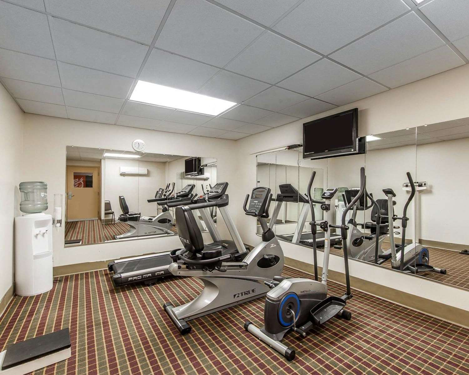 Fitness/ Exercise Room - Quality Inn & Suites Portsmouth