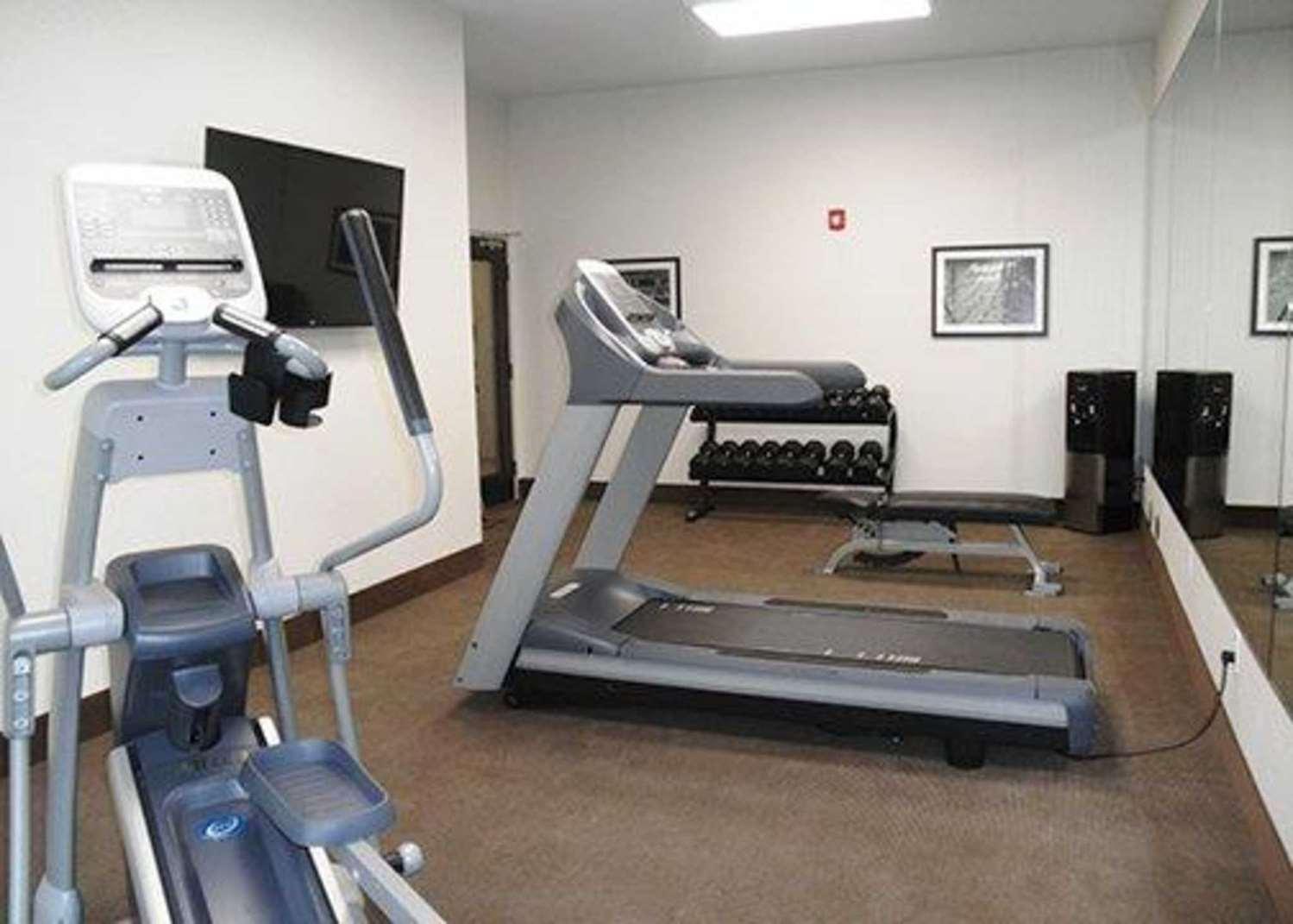 Fitness/ Exercise Room - Sleep Inn & Suites Belmont