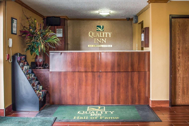 Lobby - Quality Inn Canton
