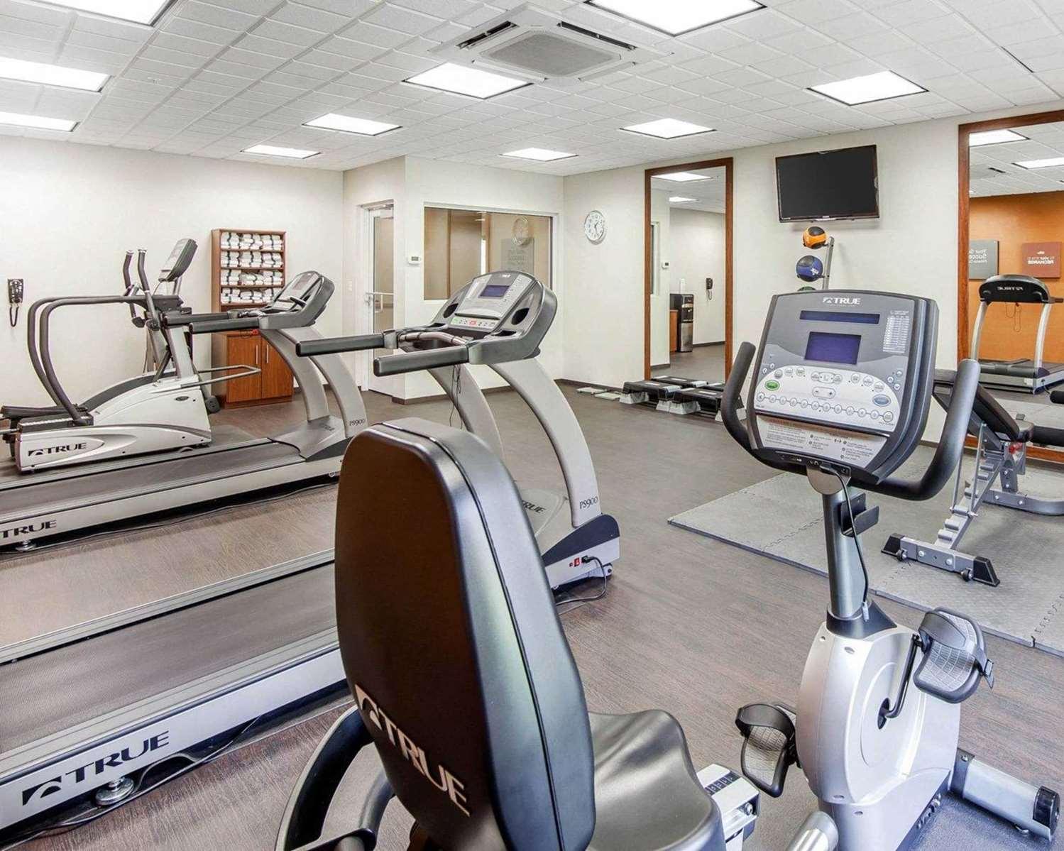 Fitness/ Exercise Room - Comfort Suites Marietta