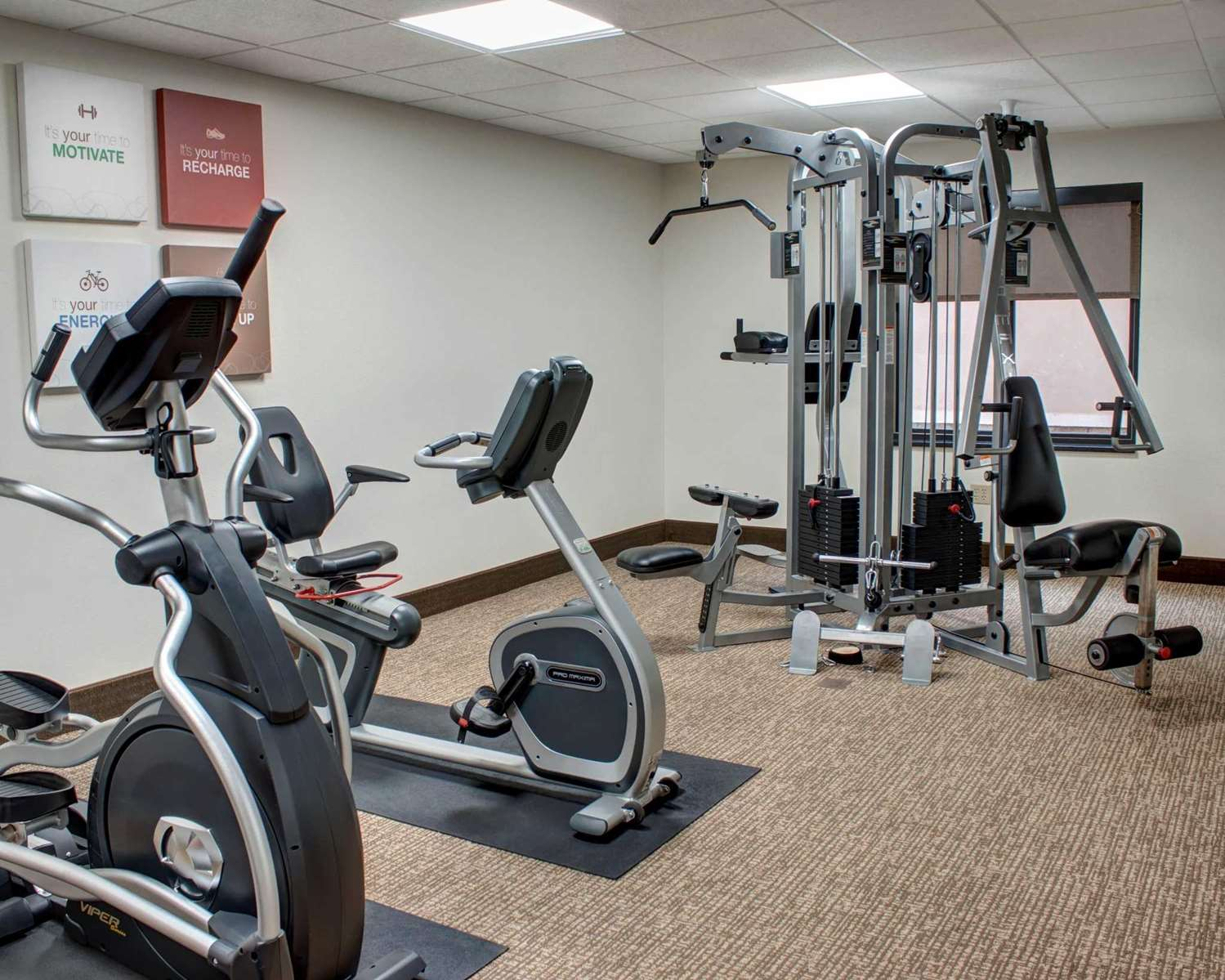 Fitness/ Exercise Room - Comfort Inn & Suites Caldwell