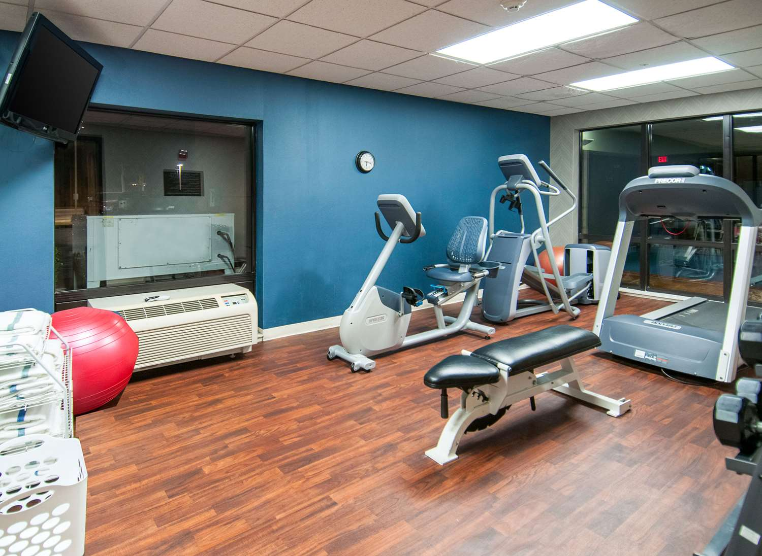 Fitness/ Exercise Room - Comfort Inn & Suites Pauls Valley