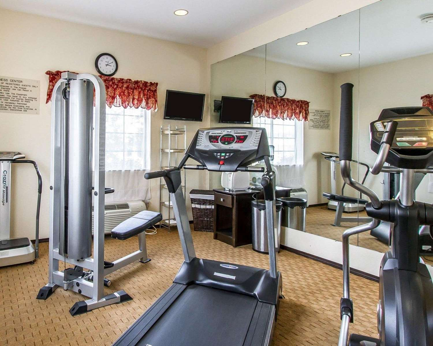 Fitness/ Exercise Room - Comfort Inn & Suites Atoka