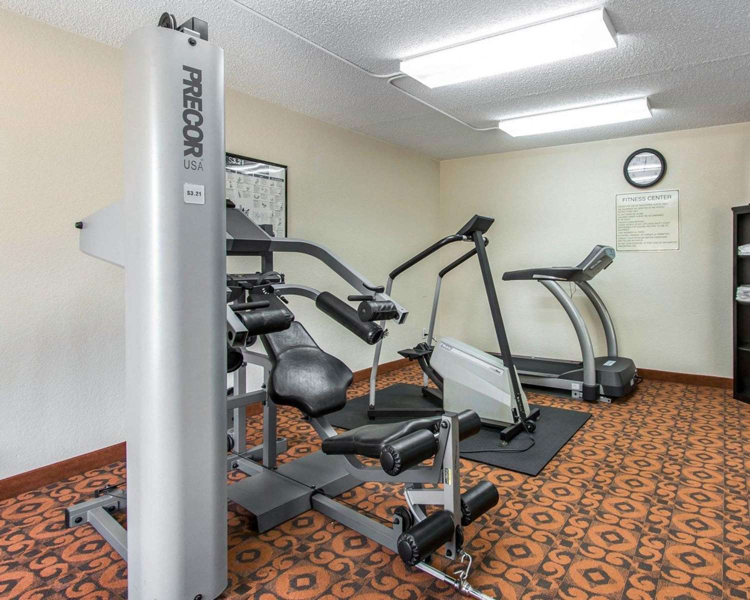 Fitness/ Exercise Room - Quality Inn & Suites Oklahoma City